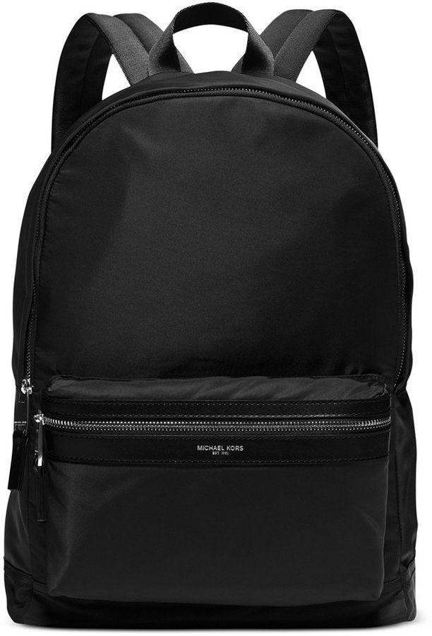 Black nylon backpack RdJb46hwHv