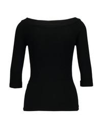 Anna Field Basic T Shirt Black