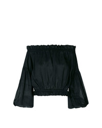 Vivienne Westwood Anglomania Off The Shoulder Blouse
