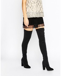 Missguided Over The Knee Boot
