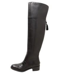 Ralph Lauren Over The Knee Boots Black