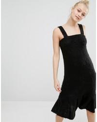 Monki Super Soft Fluffy Knitted Sweater Dress