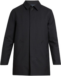 A.P.C. Preston Single Breasted Wool Overcoat
