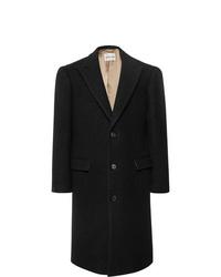 Salle Privée Adrian Slim Fit Boucl Virgin Wool Overcoat