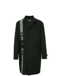 DSQUARED2 Logo Stripe Coat