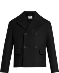 Acne Studios Merge Double Breasted Wool Coat