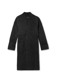 Isabel Benenato Oversized Merino Wool Blend Coat