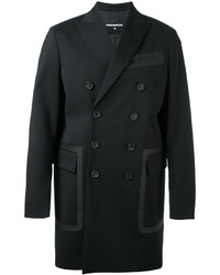 DSQUARED2 Pocket Trimmed Double Breasted Coat