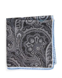 Nordstrom Shop Paisley Silk Pocket Square