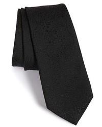 Z Zegna Paisley Woven Tie