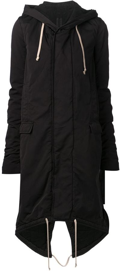 Rick Owens Drkshdw Fishtail Parka Jacket | Where to buy & how to wear