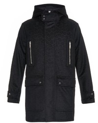 Alexander McQueen Hooded Felted Wool Parka