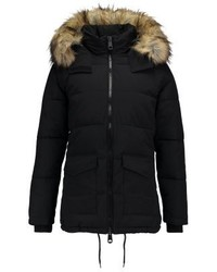 Topshop Keaveny Puffer Winter Coat Black