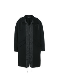 Valentino Oversized Hooded Coat