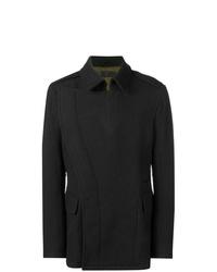 Haider Ackermann Concealed Button Coat
