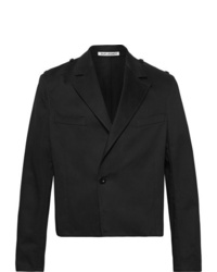 Our Legacy Cropped Cotton Twill Jacket