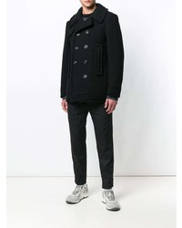 Maison Margiela Double Breasted Fitted Coat
