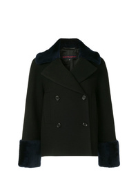 Martin Grant Double Breasted Shearling Coat