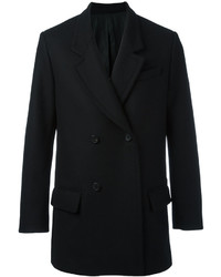 AMI Alexandre Mattiussi Double Breasted Short Coat