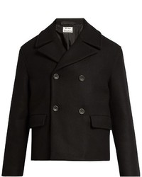 Acne Studios Merge Wool Pea Coat