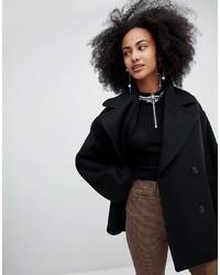 Monki Oversized Short Tailored Coat