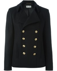 Saint Laurent Classic Short Pea Coat