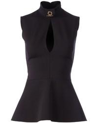 Peplum sleeveless blouse medium 256609