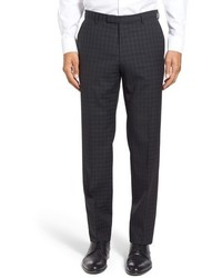 Black Plaid Dress Pants