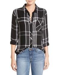 Hunter plaid shirt medium 438466