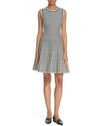 Kate Spade New York Sleeveless Plaid Jacquard Sweater Dress
