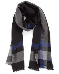 Exploded plaid wool scarf medium 950885