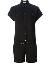 Versace Collection Belted Playsuit