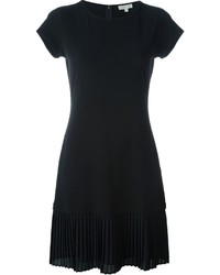 MICHAEL Michael Kors Michl Michl Kors Pleated Hem T Shirt Dress