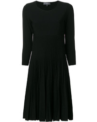 Salvatore Ferragamo Pleated Knit Dress