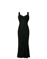 Dolce & Gabbana Lace Up Long Corset Dress