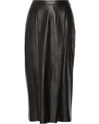 ADAM by Adam Lippes Adam Lippes Leather Midi Skirt