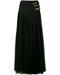 Lanvin Belted Maxi Skirt