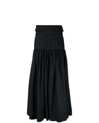 Ellery Pleated Maxi Skirt