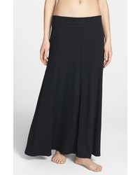 Hard Tail Stretch Cotton Maxi Skirt