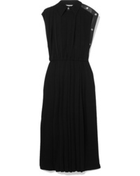 Givenchy Med Pleated Jersey Midi Dress