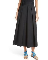 Agathe high waist pleated midi skirt medium 1334341