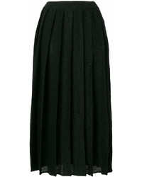 Cristaseya Pleated Midi Skirt