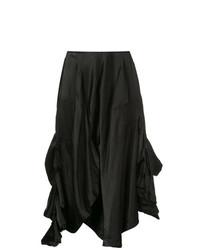 Draped midi skirt medium 7989044