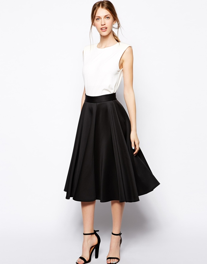 new lower prices complete in specifications online for sale £43, Closet Full Skater Skirt In Scuba