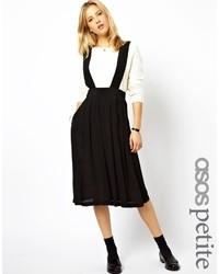 Petite midi skirt with suspenders medium 30972