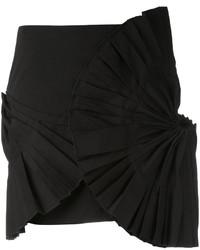 Pleated detail mini skirt medium 3724894