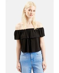Topshop Off The Shoulder Top