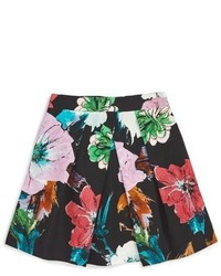 Milly Girls Floral Pleated Skirt
