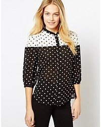 The Style Polka Dot Blouse