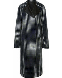 Black Polka Dot Coat
